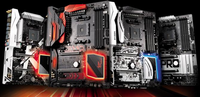 Rzut oka na płyty główne od ASRocka z chipsetem AMD B450 [1]