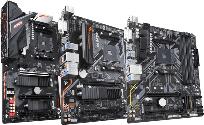 Zestawienie płyt głównych Gigabyte z chipsetem AMD B450 [1]