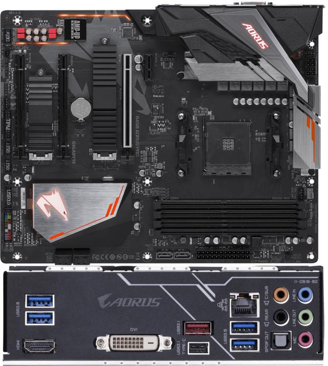 Zestawienie płyt głównych Gigabyte z chipsetem AMD B450 [2]