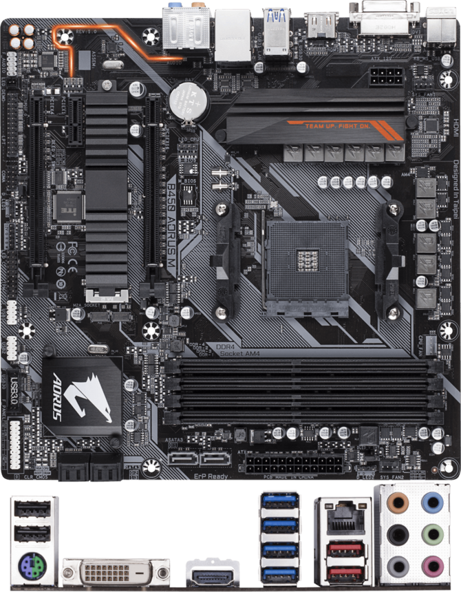 Zestawienie płyt głównych Gigabyte z chipsetem AMD B450 [3]