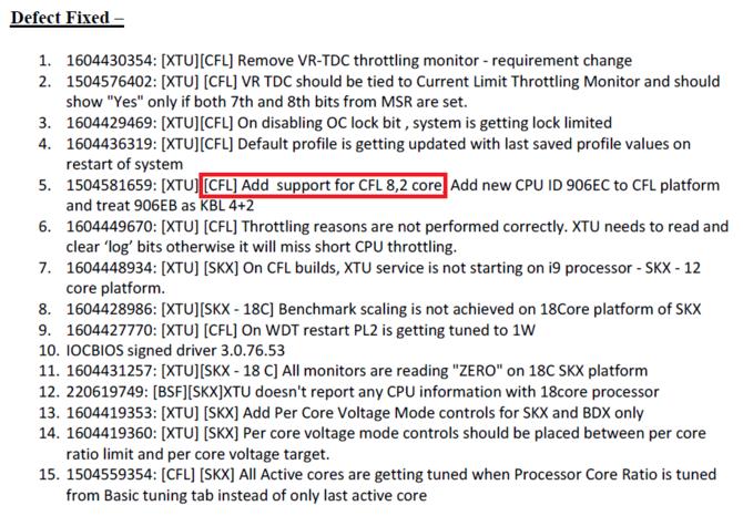 Intel Z370 otrzymuje update BIOS ze wsparciem dla nowych CPU [3]