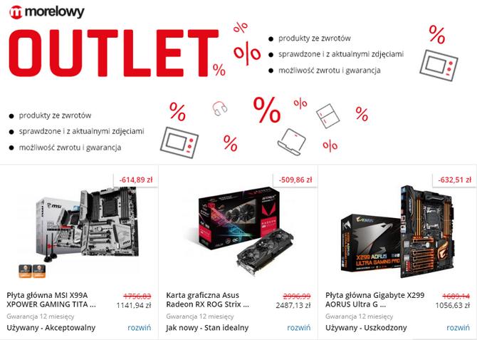 Outlet morele.net - markowy sprzęt w promocyjnych cenach [6]