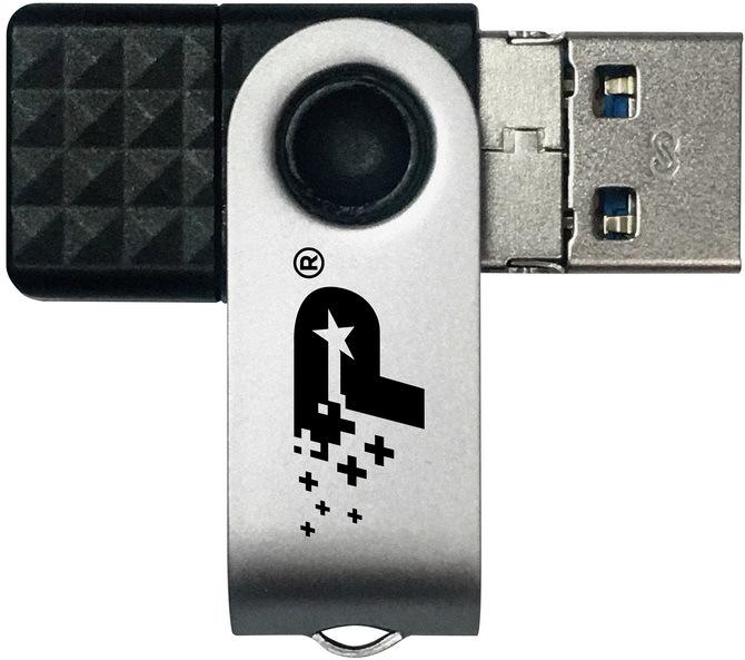 Patriot Trinity - Niewielki pendrive z kompletem złączy USB [3]