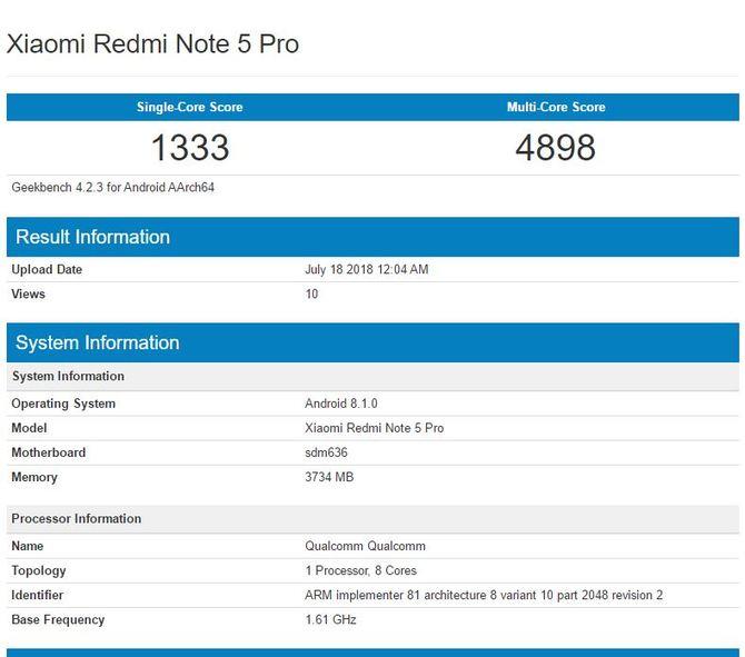 Qualcomm Snapdragon 632 - zaskakująco wysoka wydajność chipu [2]