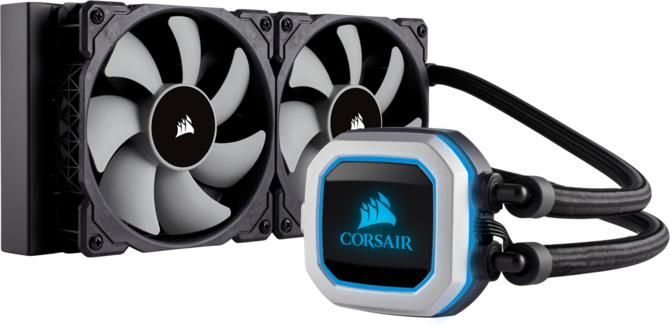 Corsair H100i Pro RGB - Chłodzenie z dyskretnym RGB LED [1]