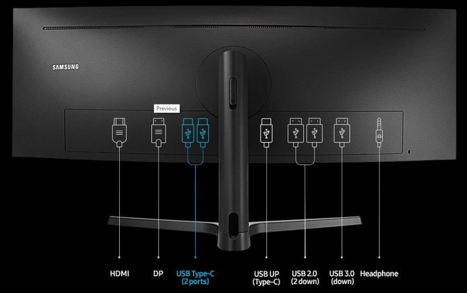 Samsung C43J89 - nowy monitor o proporcjach ekranu 32:10 [3]