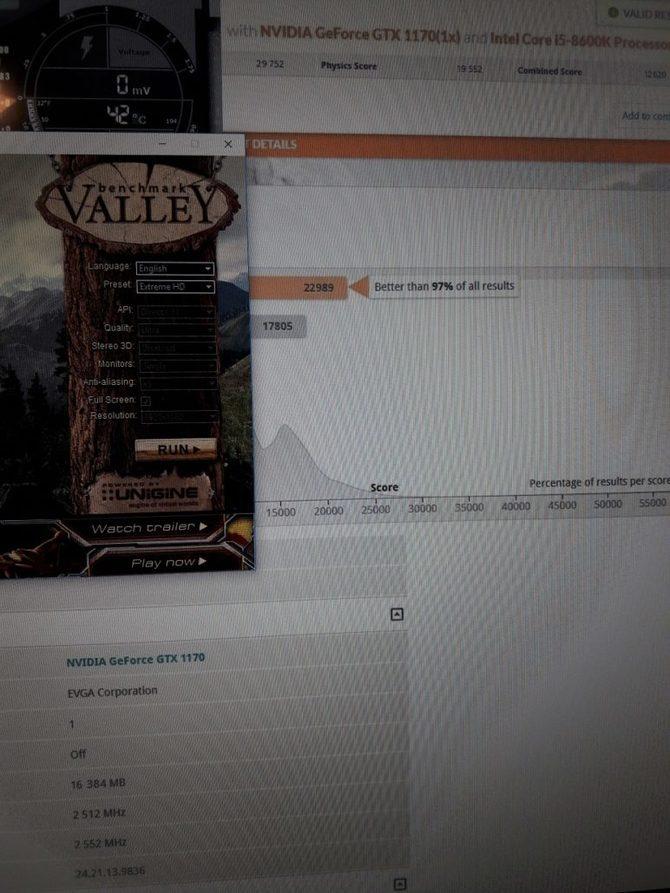GeForce GTX 1170 - pierwsze wyniki wydajności robią wrażenie [2]