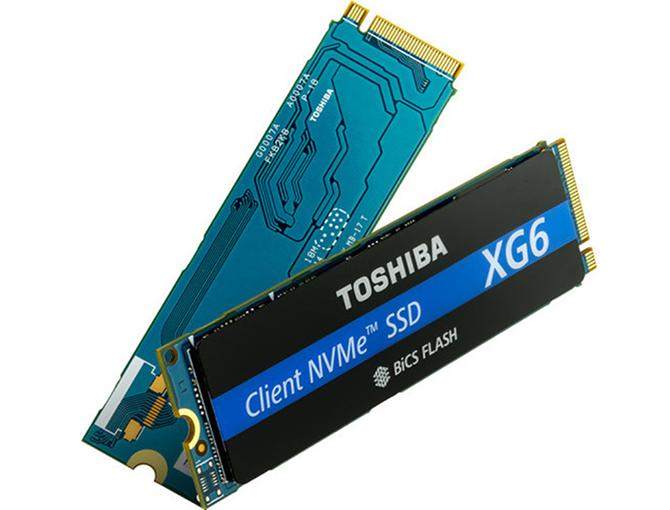 Toshiba XG6 - SSD NVMe z 96-warstowymi kośćmi 3D NAND [1]