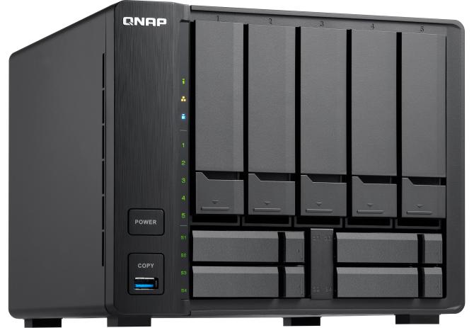 QNAP TVS-951X - Dziewięcozatokowy NAS z Intel Kaby Lake [1]