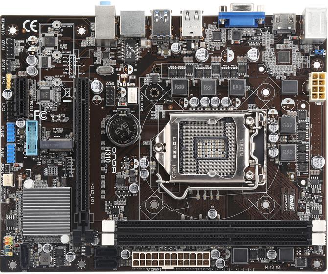 Onda H310C-SD3 - Płyta główna dla fanów DDR3 i Windows 7 [2]