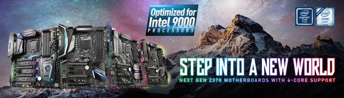 MSI potwierdza obsługę nowych procesorów przez chipset Z370 [1]