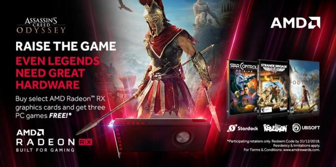 Assassin's Creed: Odyssey za darmo z kartami AMD Radeon RX [2]