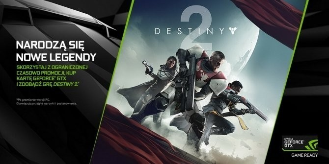 NVIDIA ponownie dodaje Destiny 2 do kart GeForce GTX 10x0 [1]