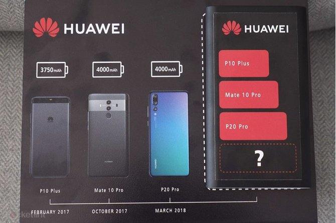 Huawei Mate 20 Pro będzie miał bardzo pojemną baterię [2]