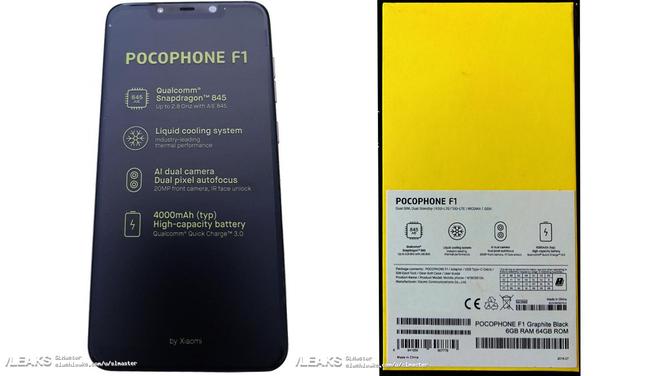 Nowe wieści o Xiaomi Pocophone F1, czy smartfonie dla graczy [3]