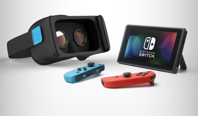 W Nintendo Switch znaleziono ukryty moduł dedykowany VR [2]