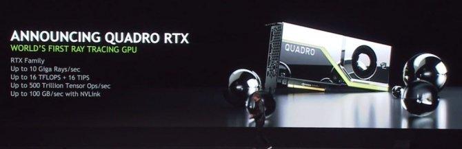 NVIDIA zapowiada kartę graficzną Quadro RTX 8000 za 10,000 USD [1]