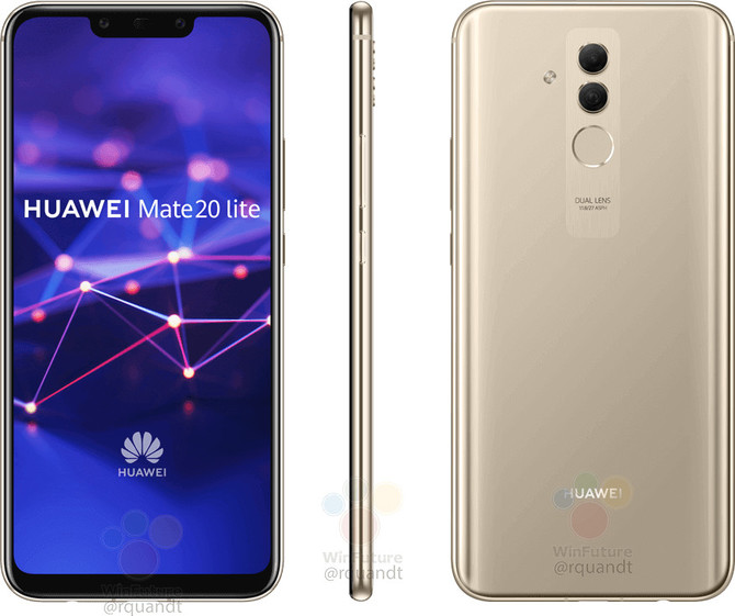 Huawei Mate 20 Lite - nadchodzący smartfon bez tajemnic [2]