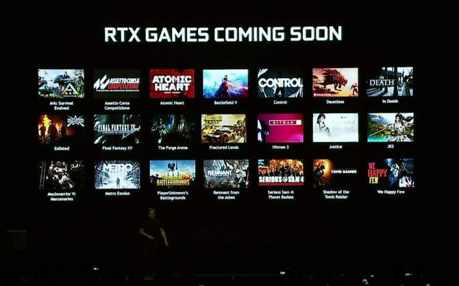 Znamy tytuły pierwszych gier z obsługą technologii RTX [1]