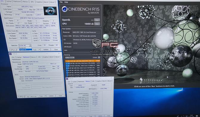 Gamescom 2018: Chłodzony cieczą, podkręcony potwór z AMD EPYC [nc3]