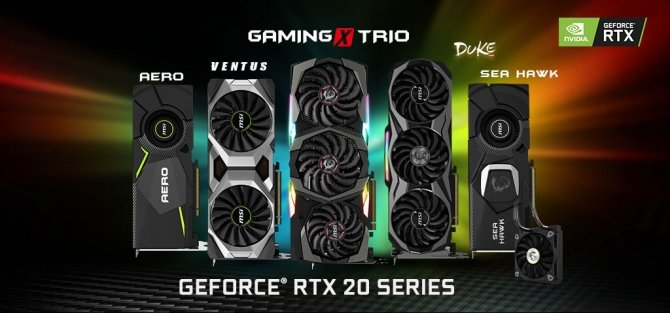 MSI prezentuje niereferncyjne karty graficzne GeForce RTX 20x0 [5]