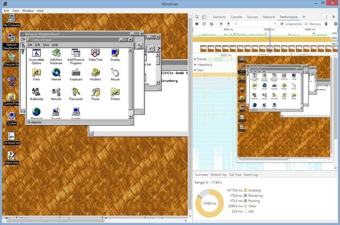 Projekt windows95 - sprawdźcie jakie kiedyś wyglądał Windows [3]