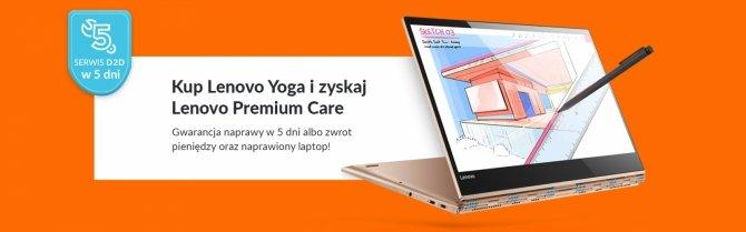 Akcja Lenovo: Yoga w serwisie do 5 dni lub zwrot 100% wartości sprzętu [2]