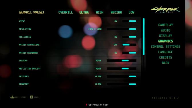 Cyberpunk 2077 ma obsłużyć techniki NVIDIA RTX i Hairworks [1]