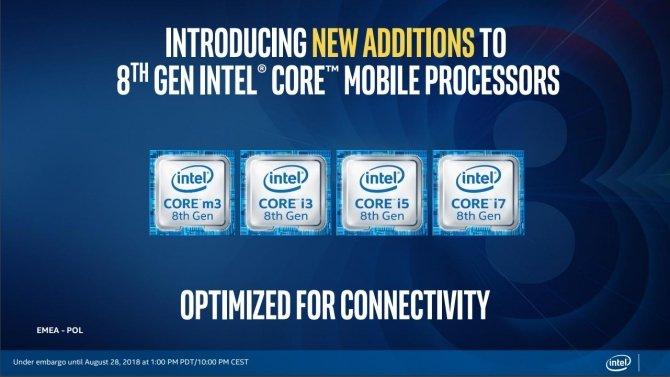 Intel Whiskey Lake-U i Amber Lake-Y - oficjalna premiera procesorów [2]
