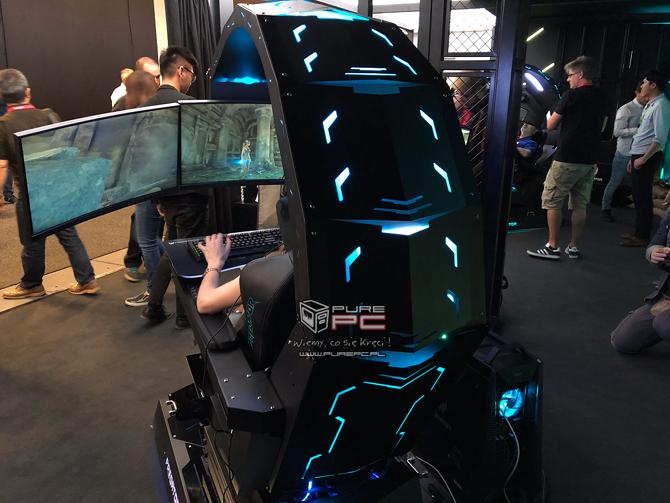 Acer Predator Thronos - stanowisko do grania jak z filmu s-f [nc2]