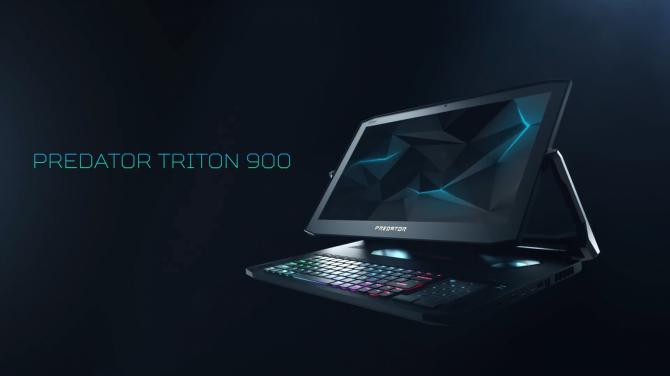 Acer Triton 900 - hybrydowy laptop do grania z nowymi kartami NVIDIA [1]
