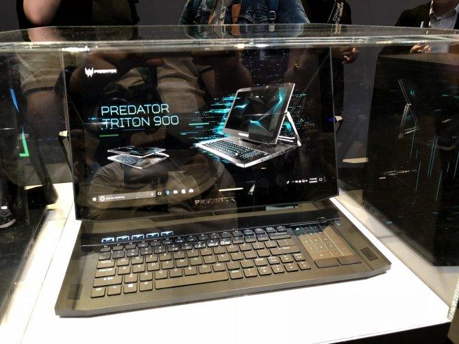 Acer Triton 900 - hybrydowy laptop do grania z nowymi kartami NVIDIA [2]