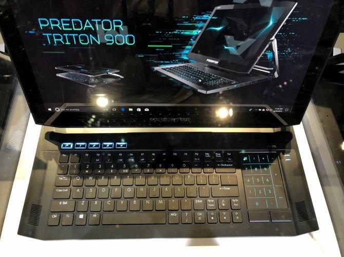 Acer Triton 900 - hybrydowy laptop do grania z nowymi kartami NVIDIA [4]