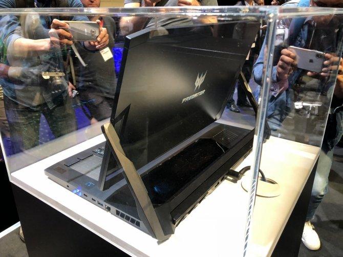 Acer Triton 900 - hybrydowy laptop do grania z nowymi kartami NVIDIA [7]