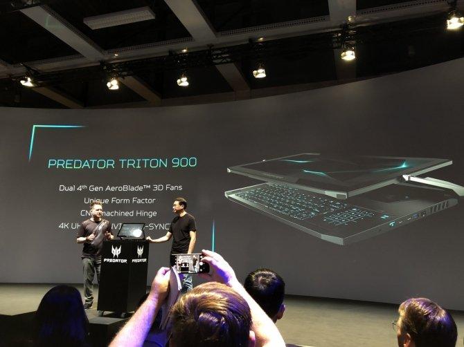 Acer Triton 900 - hybrydowy laptop do grania z nowymi kartami NVIDIA [8]