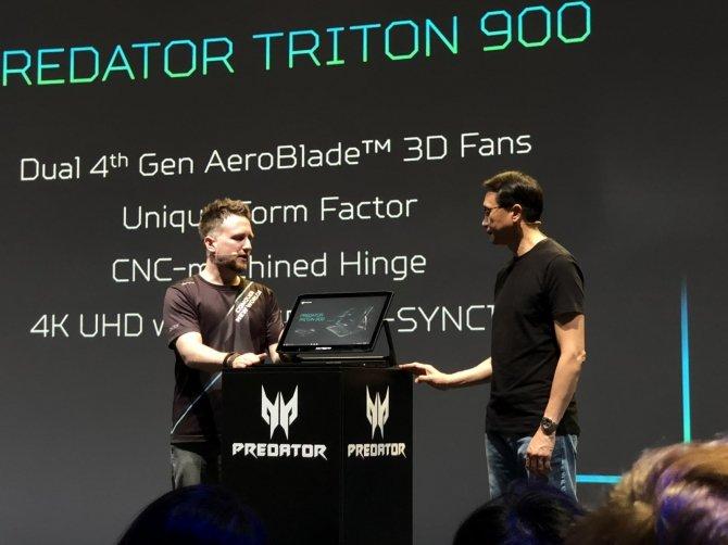 Acer Triton 900 - hybrydowy laptop do grania z nowymi kartami NVIDIA [9]
