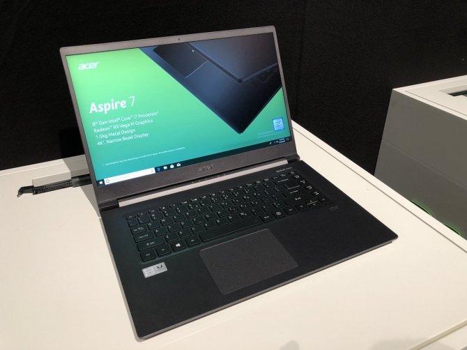 Next@acer - premiera Acer Aspire 7 z AMD Radeon RX Vega M GL [1]