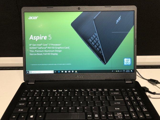 Next@acer - premiera Acer Aspire 7 z AMD Radeon RX Vega M GL [10]