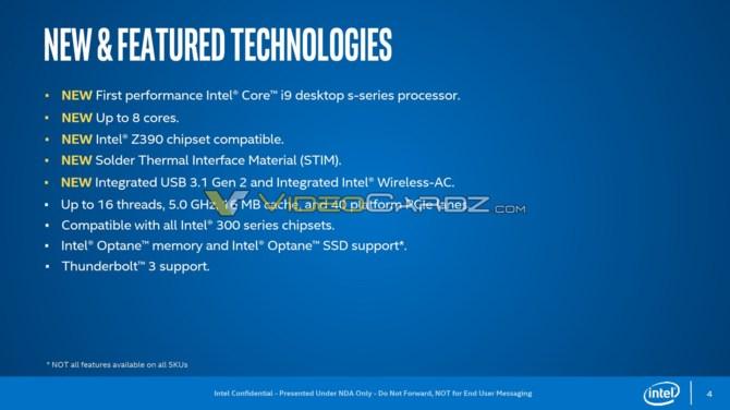 Intel Core i9-9900K na zdjęciu z widocznym lutowanym IHS [1]