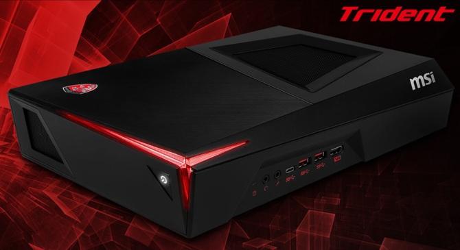 MSI wprowadza komputery Trident X z kartami NVIDIA RX 2000 [3]