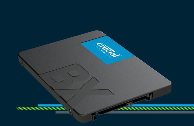 Crucial BX500 - nowa seria atrakcyjnie wycenionych SSD-ków [1]