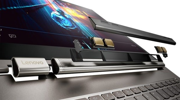 Lenovo prezentuje laptopy YOGA w tym model C930 z soundbarem [2]
