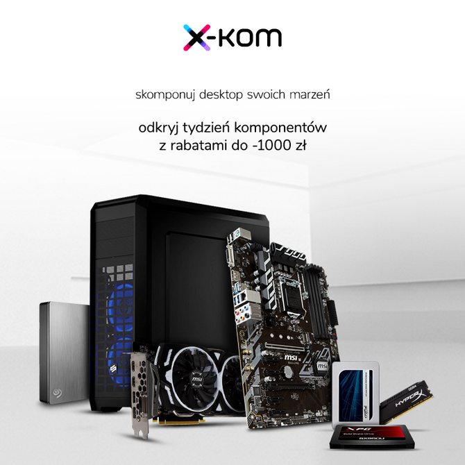 Tydzień komponentów w sklepach x-kom - niższe ceny na sprzęt [13]