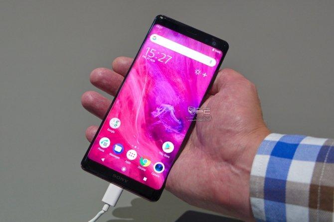 IFA 2018: Sony Xperia XZ3 - nowy smartfon z AI i funkcją Side Sense [2]