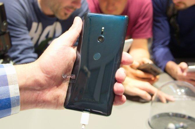 IFA 2018: Sony Xperia XZ3 - nowy smartfon z AI i funkcją Side Sense [3]