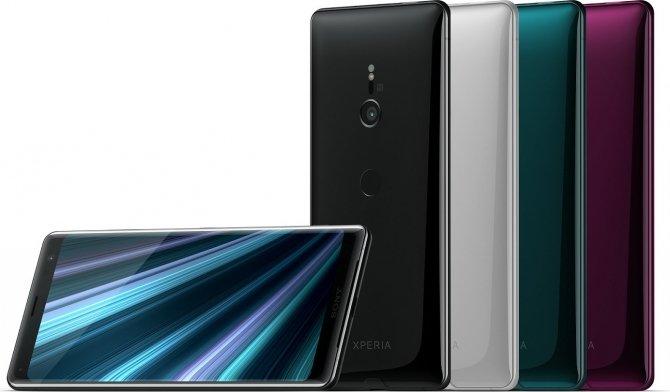 IFA 2018: Sony Xperia XZ3 - nowy smartfon z AI i funkcją Side Sense [4]