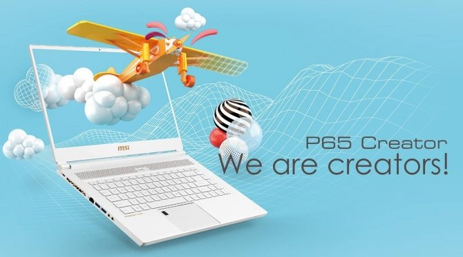 MSI P65 Creator - biznesowa wersja laptopa GS65 Stealth Thin [1]
