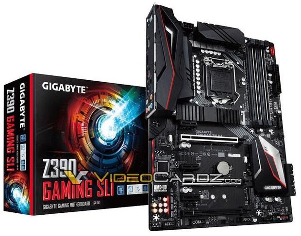 Gigabyte Z390 Gaming SLI - znamy wygląd i wyposażenie płyty [4]