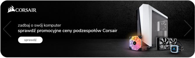 Corsair tnie ceny - promocje na zasilacze, obudowy i peryferia [12]