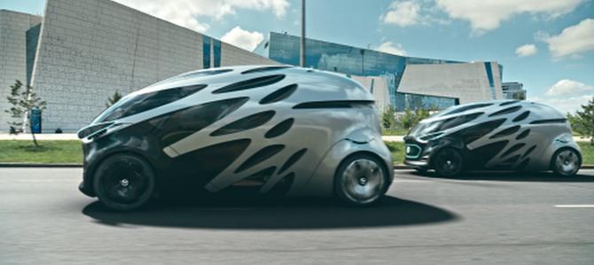 Vision Urbanetic: układanka z klocków Mercedesa [1]